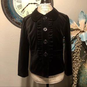 Halogen Black Velvet blazer size medium